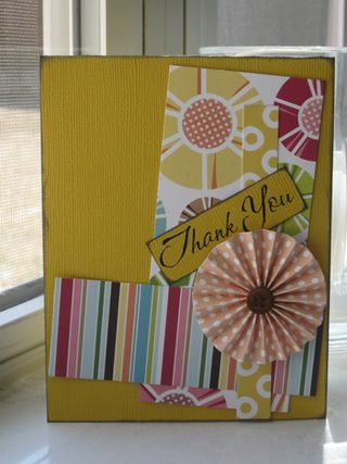 April 2011 Thank You Card